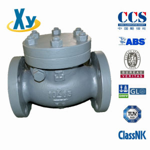 Marine Cast Iron Lift Check Valve JIS F7359 5k