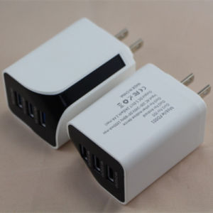 Wholesale Colorful Mobile Phone 3 USB Port 5V 3.4A   DC Charger/Power Plug pictures & photos