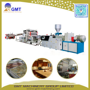 PVC Artificial Faux Marble Sheet Wall Board Twin Screw Extruder