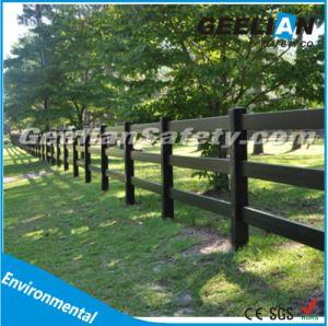white fence post. White Black Feild Fence Post For Cattle / Sheep Horse