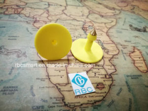 RFID Animal Cattle Ear Tag F08 ID Chips for GPS System