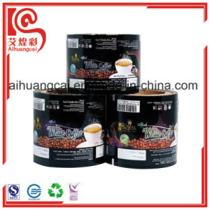 Automatic Magic Tracing Packaging Plastic Film Bag Roll for Coffee pictures & photos