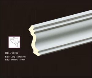 Smooth Surface with High Quality PU Polyurethane Building Materials Moulding of Interior Decoration