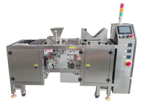 Doypacking Machine for Flat Pouch and E-Hole, Zipper/Spout/Stand up/ Pillow Pouch