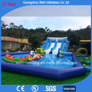 China Giant Inflatable Pool Slide for Adult and Kids Inflatable