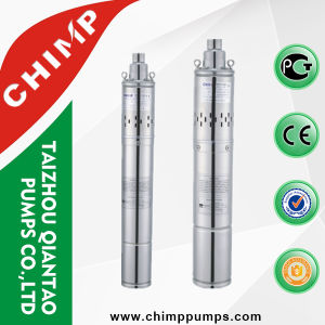 0.25kw Small Stainless Steel Electric Screw Deep Well Submersible Pump pictures & photos