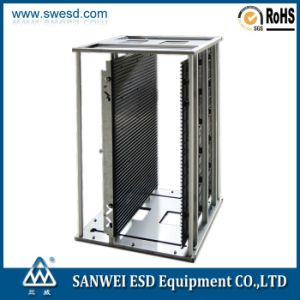 China SMT PCB Magazine Rack with Locker pictures & photos