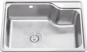 L5307 Stainless Steel Stretching Single Bowl Sink
