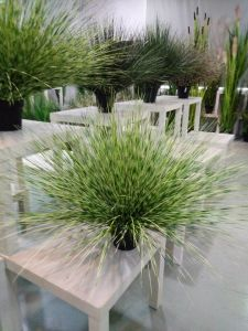 china high quality artificial plants and flowers of onion grass