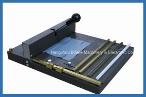 SM-460 manual ceasing perforating machine/Office Manual Paper Scoring machine pictures & photos