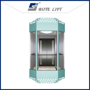 Panoramic Elevator Residentail Lift with Good Quality Glass Sightseeing