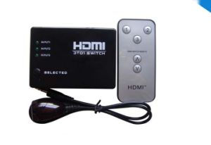 3X1 HDMI Switch with Remote up to 1080P pictures & photos