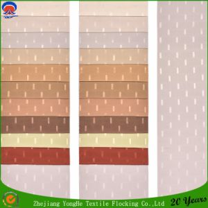 Home Textile Woven Waterproof Fr Polyester Blackout Jacquard Curtain Fabric pictures & photos