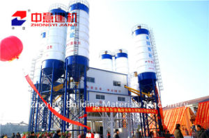 Hzs 120 M3/H Stationary Concrete Batching/Mixing Plant with Sicoma Mixer for Construction pictures & photos