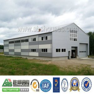 High Quality Industrial Steel Structure Workshop and Warehouse Building