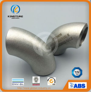 Wp316/316L Stainless Steel Elbow 90d Lr Pipe Fitting with Dnv (KT0068) pictures & photos