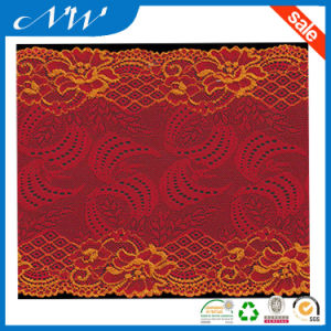 Hot Sale Good Quality Stretch Jacquard Lace Trims for Garments
