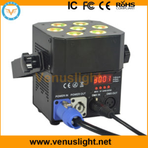 Mini 7PCS 5in1 LED Flat PAR Stage Light
