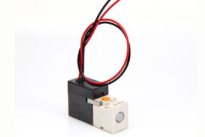 2 Position 3 Way Pilot Mini Solenoid Valve for LED Sorting Machine Supplier pictures & photos