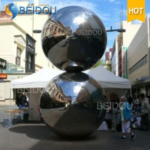 Decorative Inflatable Mini Mirror Silver Gold Red Disco Balls 2m Inflatable Mirror Ball