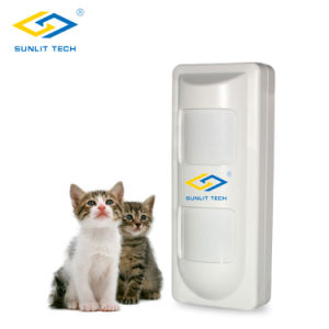 Intelligent 2 PIR and MW Outdoor Alarm Motion Detector with Pet Immunity (OTD-40T) pictures & photos