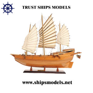 Wooden Pirate Ship Model, Model Boat for Business Gifts pictures & photos