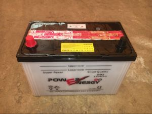 N95 12V95ah Lead Acid Dry Charged Auto Battery