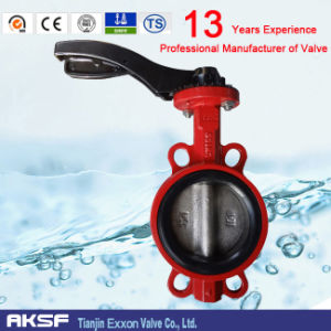 Wafer Type Butterfly Valve in Cast Iron/ Ductile Iron D71X