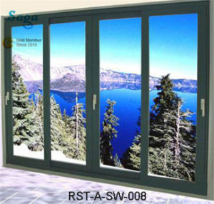 High Quality Aluminium Sliding Window and Door Saga Door