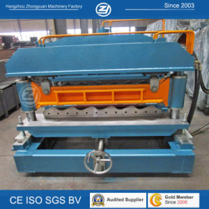 Tile Cold Roll Forming Machine with Mitsubishi PLC pictures & photos