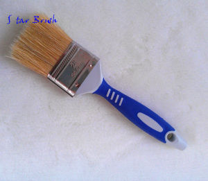 High Quality Bristle Paint Brush with Rubber Handle
