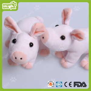 New Design Plush Pink Pig Pet Toy pictures & photos