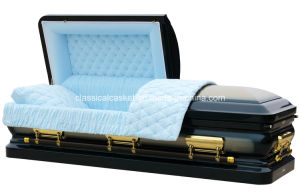 Sapphire Gold Casket for USA Market pictures & photos