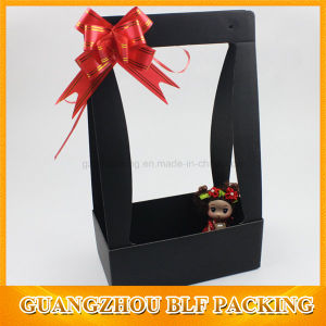Corrugated Paper Handle Flower Gift Box pictures & photos