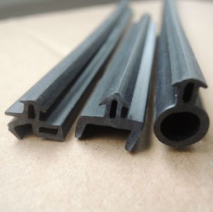 Aluminum Doors And Windows Edge Soundproof Rubber Seal Strip