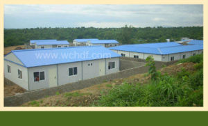 Widely Application Prefabricated House with K Slope Roof