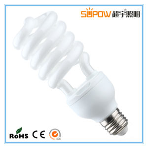 28W 30W Half Spiral Energy Saving Lamp CFL Compact Light T4 pictures & photos