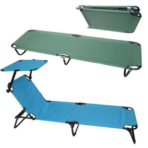 Outdoor Super Light Aluminum Portable Folding Camping Bed (SP-170) pictures & photos