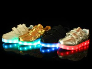 Various Colors of Adult Shoes with Lights pictures & photos
