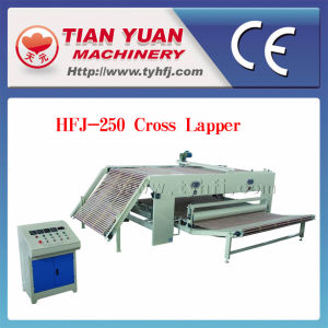 Nonwoven Polyester Fiber Cross Lapper Machine pictures & photos