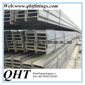 Black and Galvanized 6m Length Q235B I Beam and H Beam