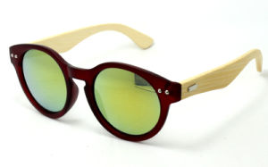 High Quality Fashion Bamboo Sunglass pictures & photos