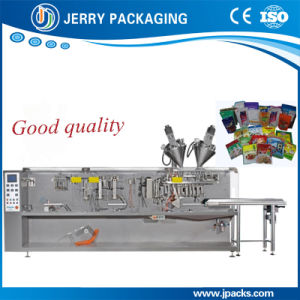 Automatic Horizontal Rice & Flour Powder Pouch Package Packaging Packing Equipment pictures & photos