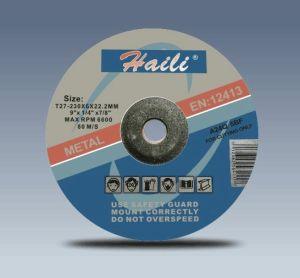 "9"" (230-6-22.2) Grinding Wheel for Metal"