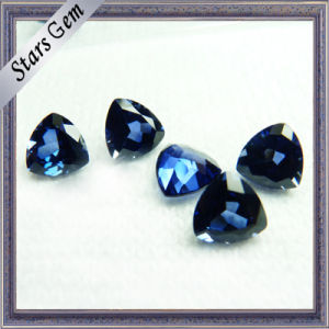Synthetic Corundum #34 Blue Lab Sapphire for Jewelry Setting pictures & photos