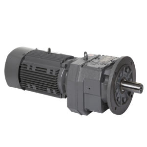 R Series Gear Motor Helical Bevel Gearbox with Motor High Quality pictures & photos