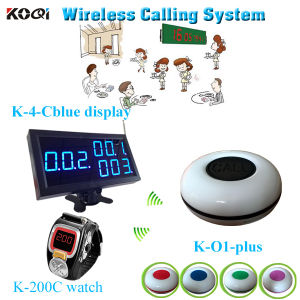 Wireless Waiter Buzzer Call Bell Button System Call Button Pager pictures & photos