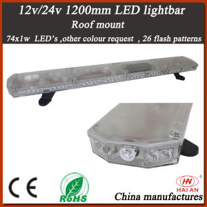New LED Warning Lightbar with Tir and Clear Lens (TBD-GC-812L-C) pictures & photos
