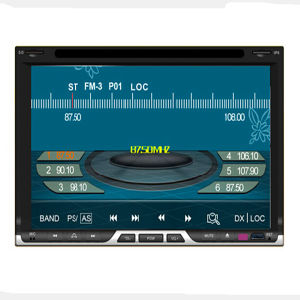 Double DIN Car Stereo/Car DVD Player with GPS Navigation System