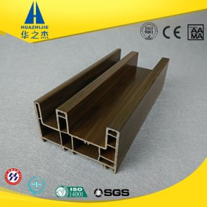 Hst88-01b Full Color Dark Brown UPVC Profile for Window & Doors